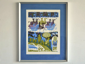 David Weidman signed and Numbered Serigraph