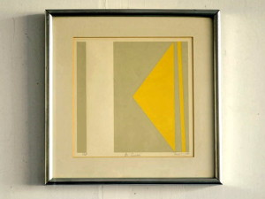 "Signed Tashimoto Artist Proof ""Bi Square"""