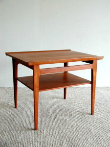 Finn Juhl Diplomat Teak Side Table