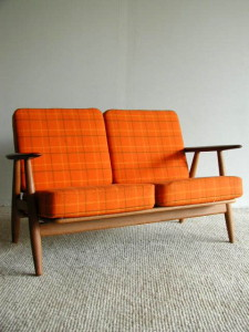 Hans Wegner Cigar Arm Gatama Loveseat