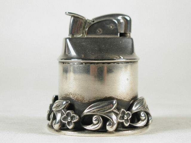 Sterling Georg Jensen Table Lighter