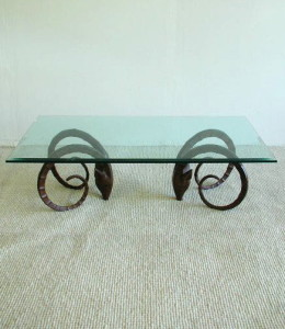 Arthur Court Gazelle Coffee Table