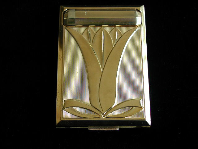 Richard Hudnut Art Deco Compact Complete in Box