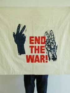 End The War! Flag