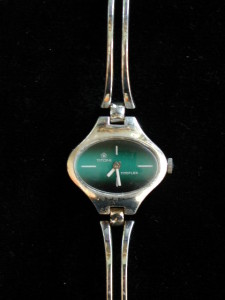 Titoni Titoflex Sterling Silver 17 Jewel Ladies Watch