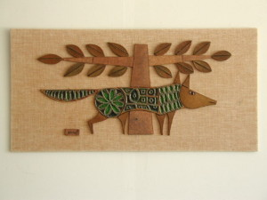 Raul Coronel Ceramic Wall Plaque