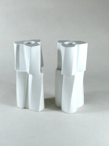 Frank Gehry Candlesticks for Tiffany