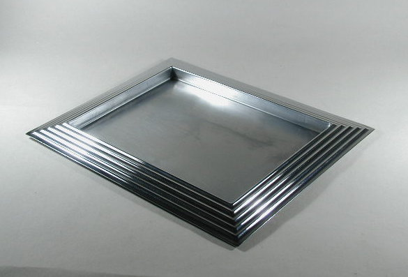 Norman bel Geddes Skyscraper Tray by Revere