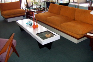 Milo Baughman Sofa and Chair