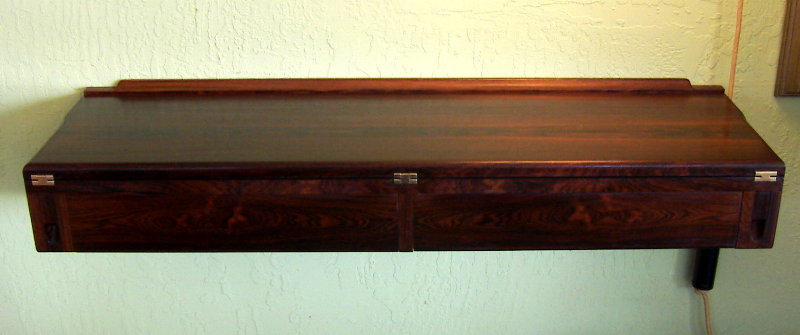 Arne Hovmand-Olsen Rosewood Wall Mounted Server