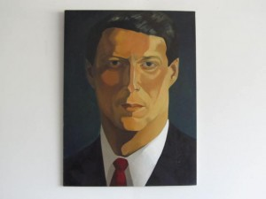 Iconic Al Gore Painting 1993
